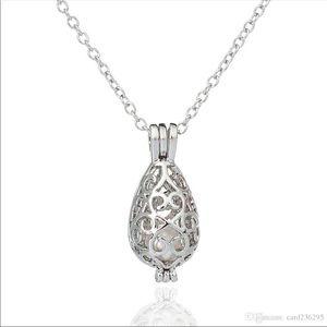 18 Kgp Cage Locket Necklace